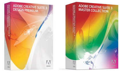 Adobe CS3 Packaging
