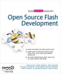 The Essential Guide To Open Source Flash Development Cover
