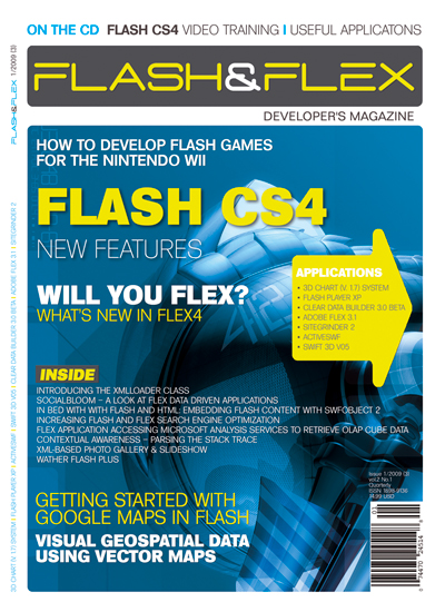 Flash & Flex Developers Magazine - January 2009